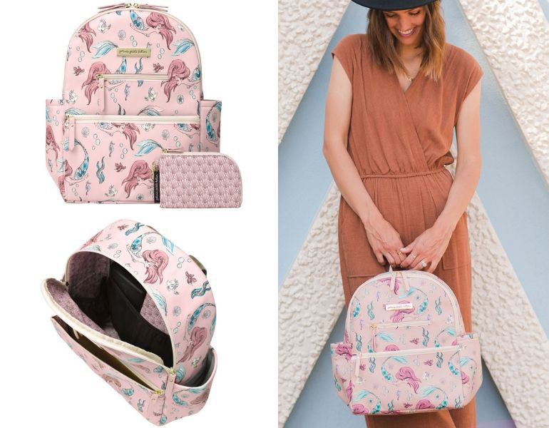 nappy bag, back pack, baby essentials