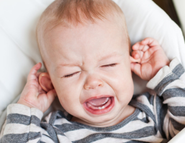 Baby showing signs of teething