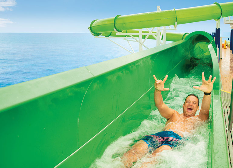 Green Thunder water slide