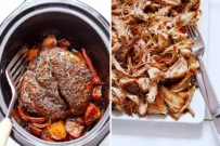 slow cooker pork shoulder roast recipe