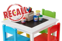 Tinkers table and chairs set recalled