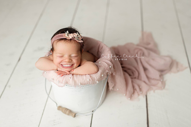 babies with teeth © Coffee Creek Studio by Amy Haehl