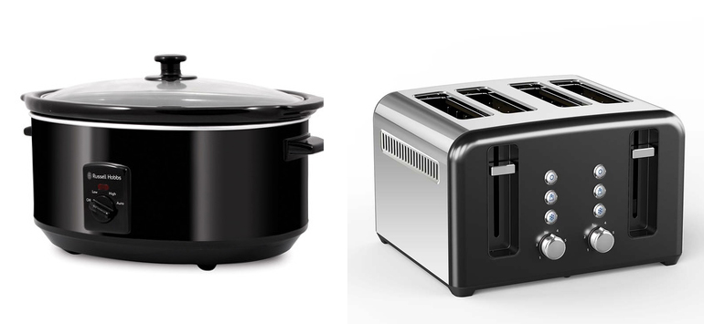 Harris scarfe sale slow cooker & toaster
