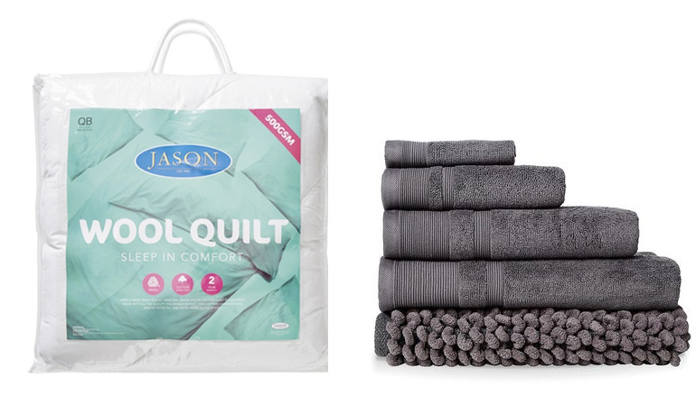 Donna and towels in sale