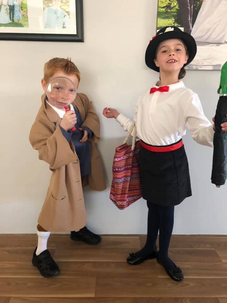 Mary Poppins and TinTin book week