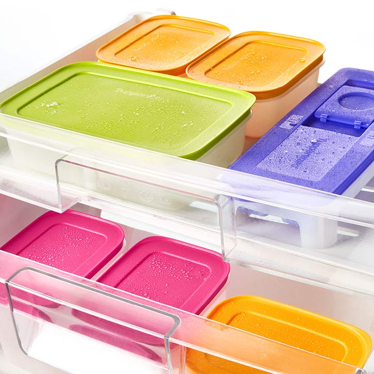 Tupperware containers for pantry storage