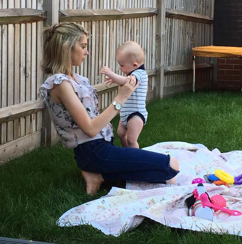 charlotte and hugo postnatal depression