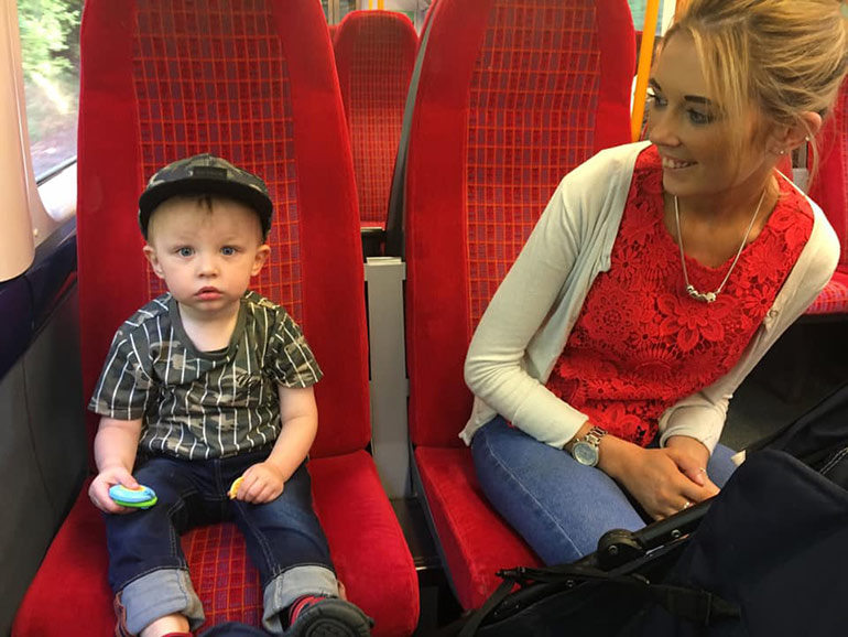 postnatal depression charlotte masterson and son hugo