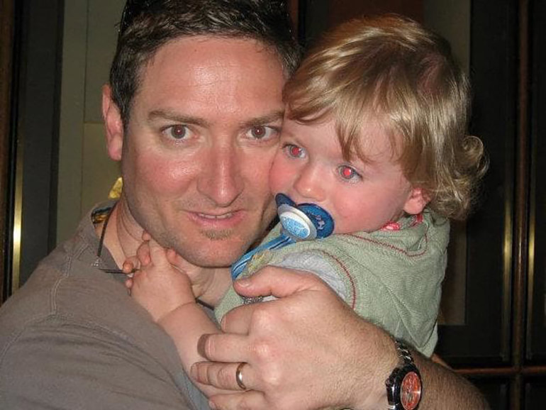 Craig Heatley with son, SIDS facts