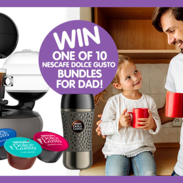 Spoil Dad With These Clever Father's Day Upgrades thanks to NESCAFE Dolce Gusto