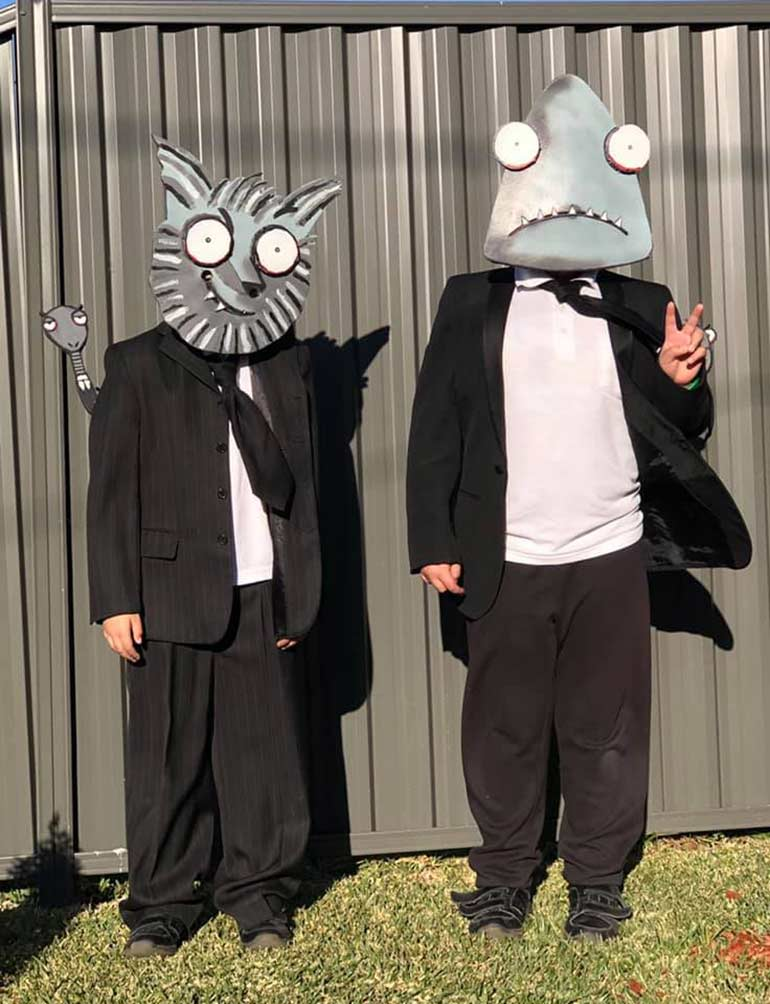 Bad Guys Book Week