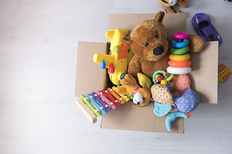 how to cull kids toys, toy donation