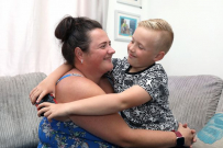 8 year old hero saves mum after allergy 2