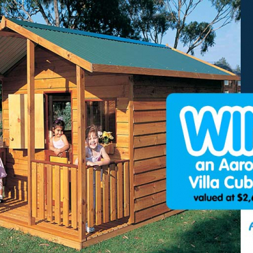 Aussie-Made Aarons Takes Cubby House Goals to New Heights