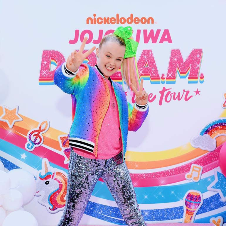 JoJo Dream Tour concert in Australia