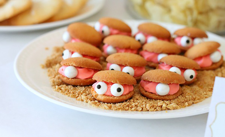 under the sea kids party food