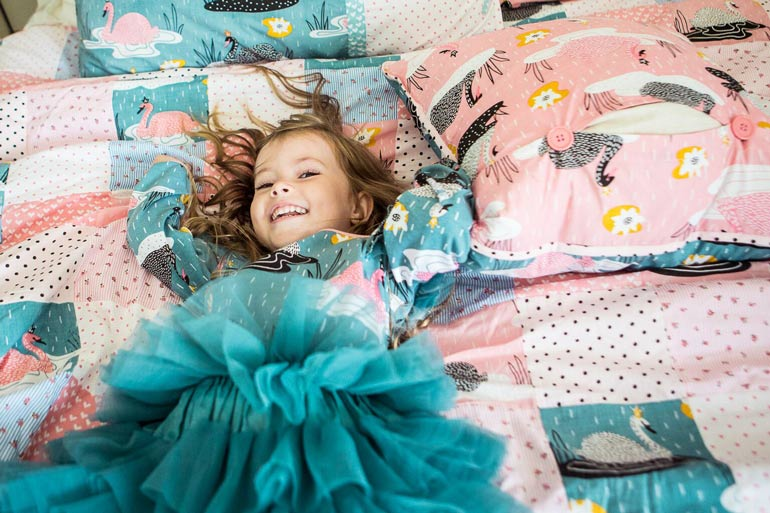 Oobi girls clothing and bedding