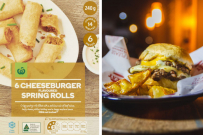 woolworths cheeseburger spring rolls