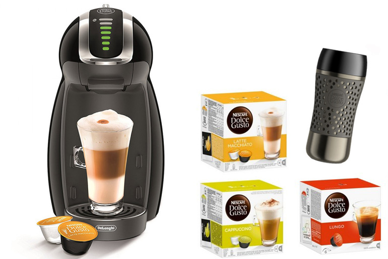 Nescafe dolce gusto genio coffee machine bundle