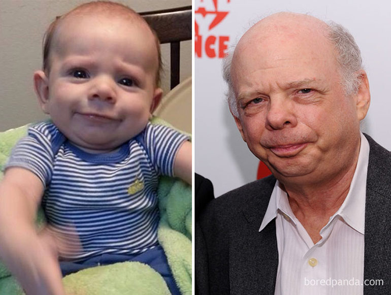 wallace shawn baby doppelganger