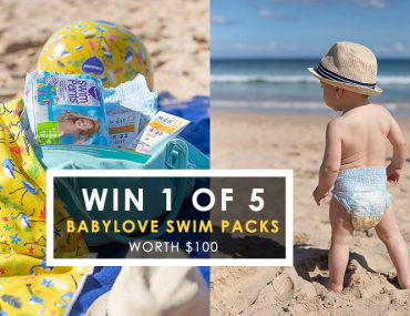 Babylove swim nappies competition