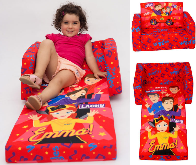 gifts under $50, Wiggles fold out couch