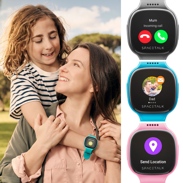 Spacetalk smartwatch, toys for school aged kids