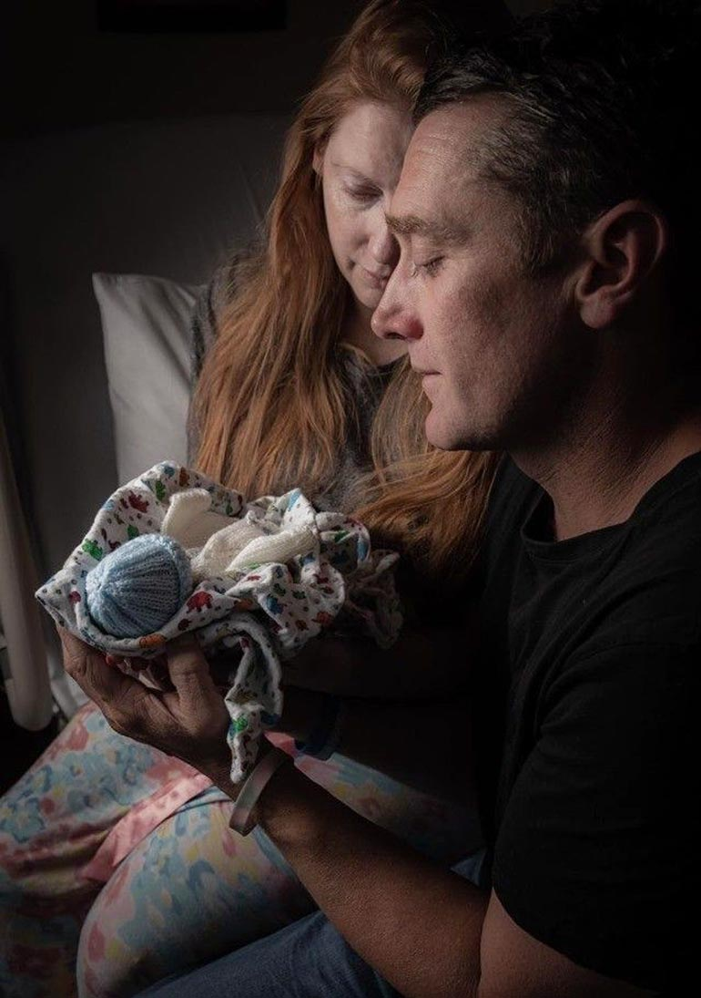Samantha and Paul Rowe multiple miscarriages and stillbirth