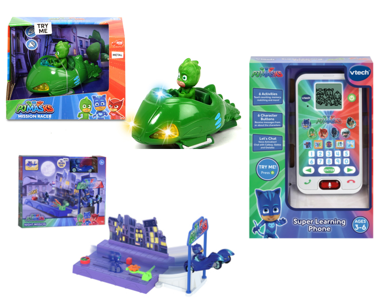 PJ Masks Christmas gifts for little kids and preschoolers