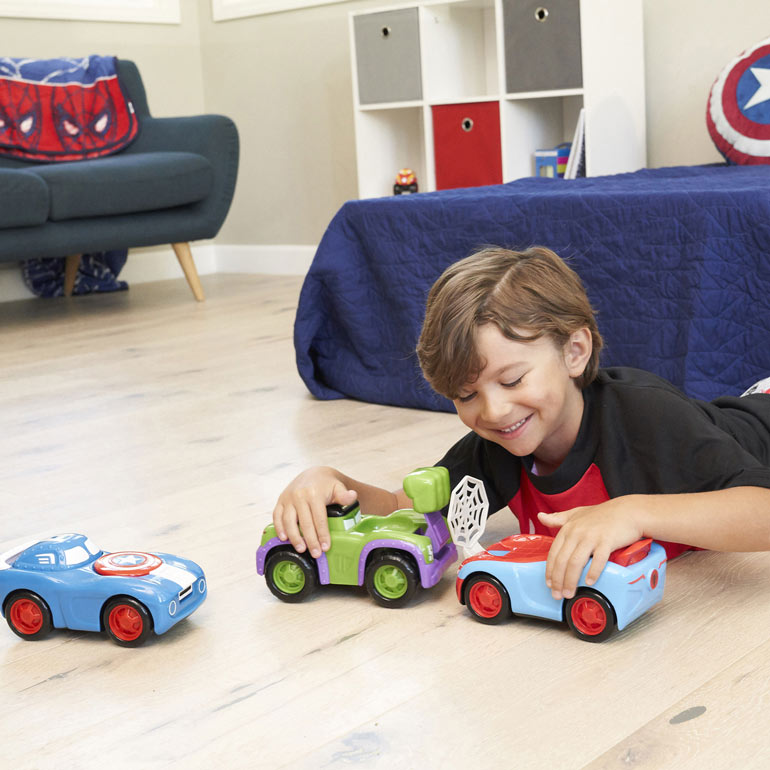 toys for preschoolers marval smash squad car set