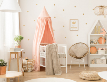 pretty nursery trends