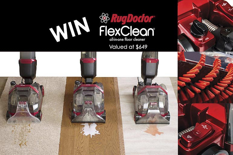 Rug Doctor FlexClean Floor Cleaner competition