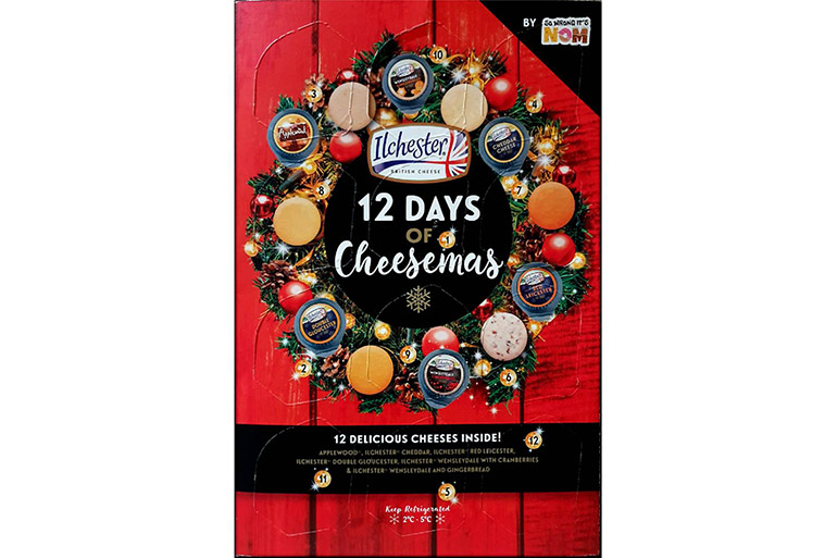 12 days of cheesemas advent calendar