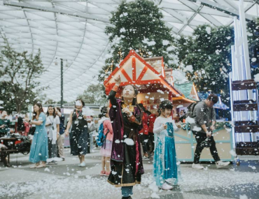 Jewel Changi Airport frozen wonderland