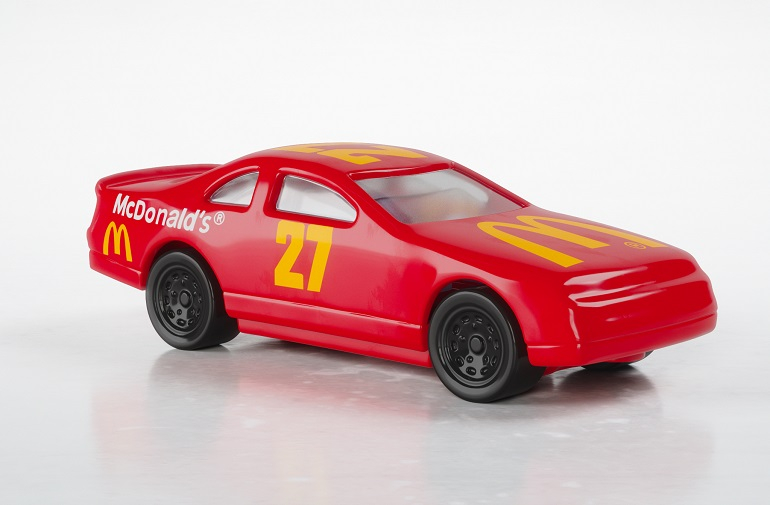 McDonalds Happy Meal toy hot wheel car