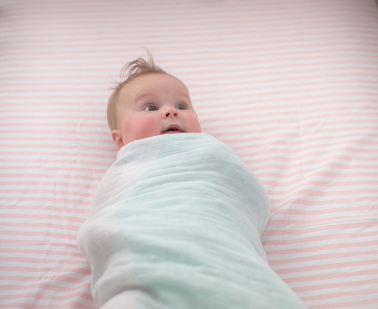 CottonTouch swaddle