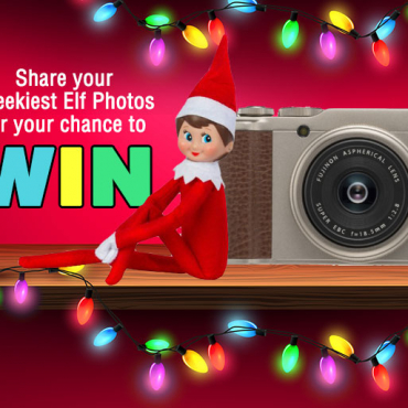 Share Your Elf on the Shelf Photos and WIN a $699 FujiFilm Camera