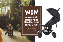 Mountain Buggy travel baby products