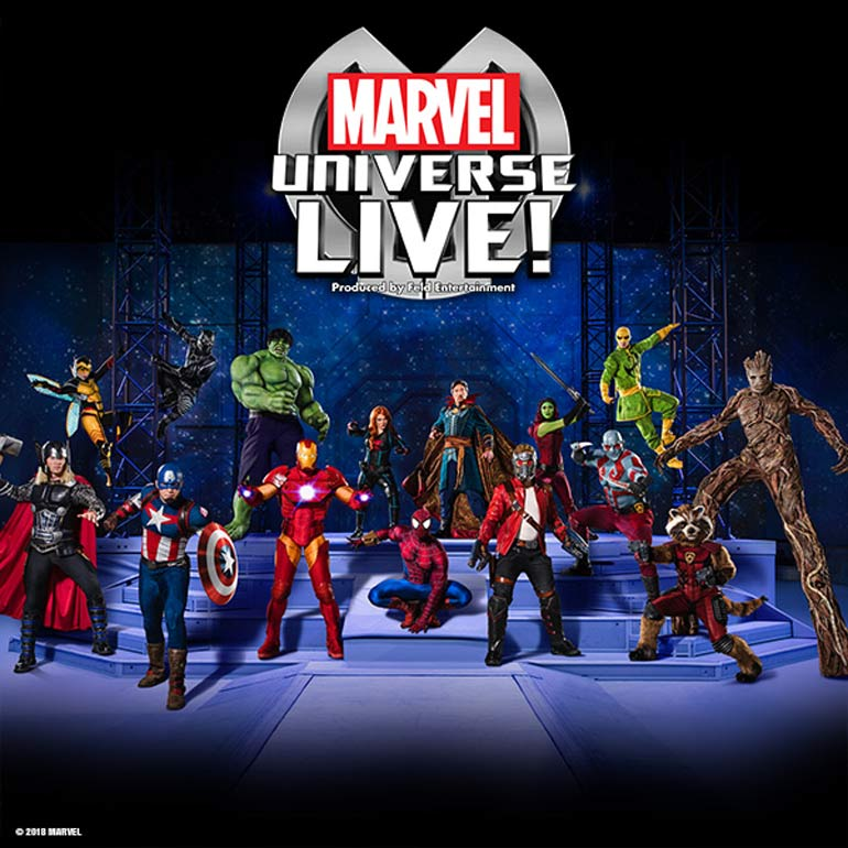 Marvel Universe LIVE coming to Australia
