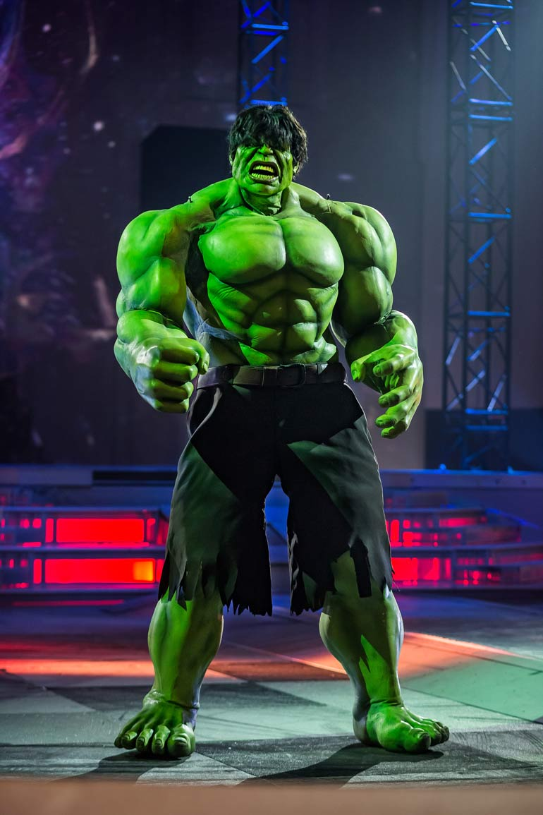 The Hulk from Marvel Universe LIVE