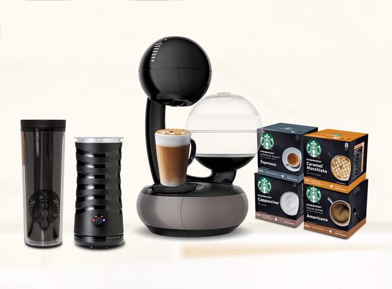 STARBUCKS® by NESCAFE® Dolce Gusto® Premium Starter Kit Adults Christmas gifts