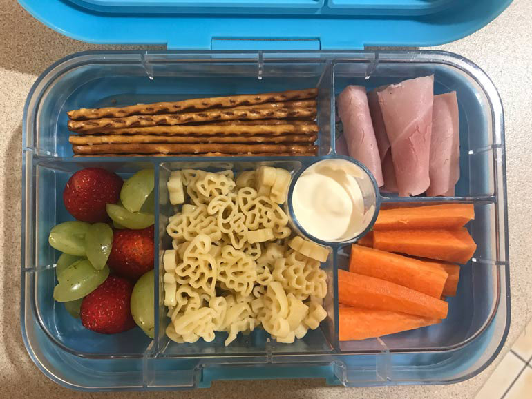 Vetta Pasta in a lunch box