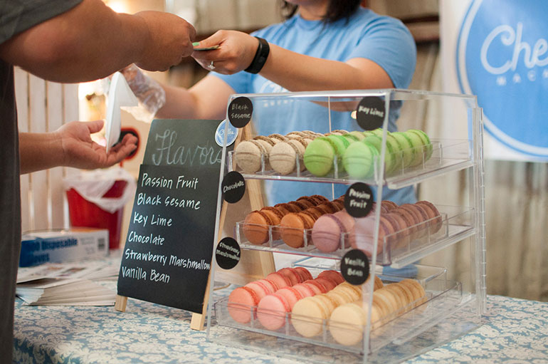 Christmas money saving tips, markets macaroon