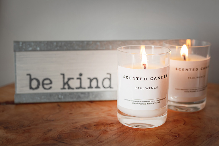 Christmas money saving tips, candles