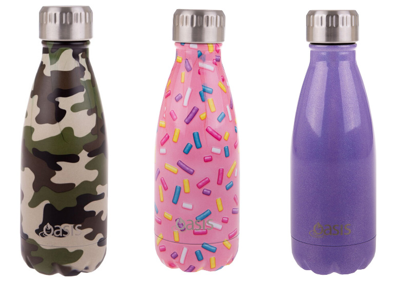 school supplies list, drink bottles