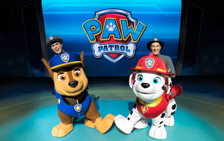 Win tickets to Paw Patrol Live 2020