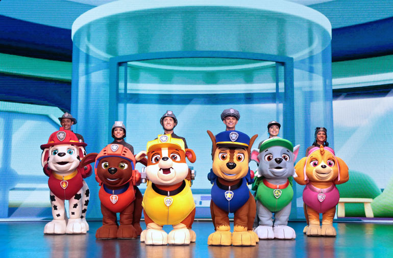 Paw Patrol Live Race to the Rescue 2020