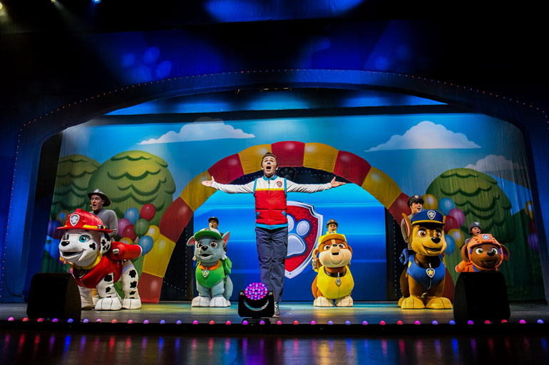 win tickets to see Paw Patrol Live 2020