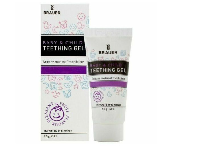 Brauer Baby and Child Teething Gel