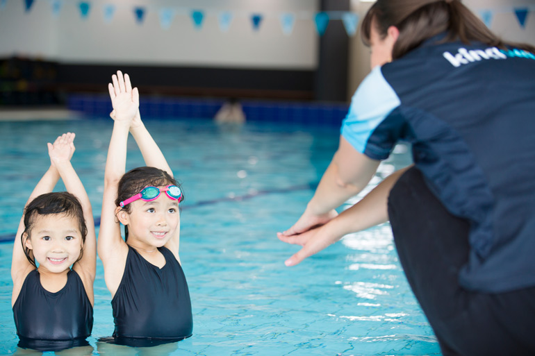 Kingswim benefits to swimming lessons